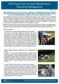 GWP Small Islands WRA, Development, Protection Feb14