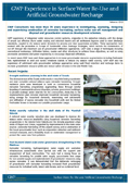 GWP Surface water re-use and artificial recharge May10