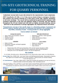 GWP Geotechnical Training