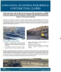 GWP Litigation, Planning Inq + Cont Claims 0920